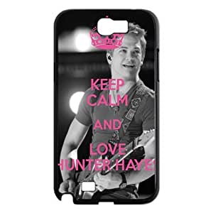 Custom Hunter Hayes Hard Back Cover Case for Samsung Galaxy Note 2 NT716