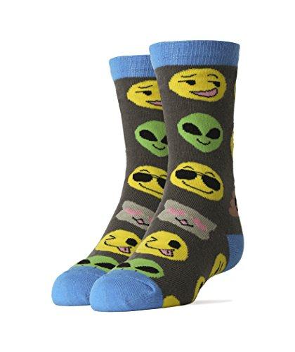 Oooh Yeah Kids Youth Crew Funny Novelty Socks Emoji Me Gifts -