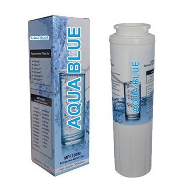 AQUA BLUE UKF8001 Water Filter Compatible With Maytag UKF8001, UKF8001A, UKF8001P Refrigerator Water Filter Nsf...