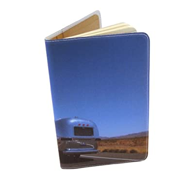 On The Road Airstream Journal (Diary, Notebook) w/ Moleskine Cahier Pocket Cover