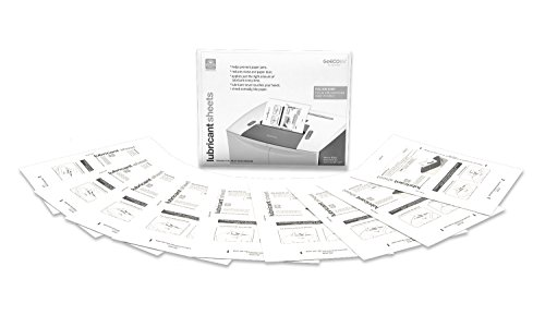 GoECOlife GLL12 12 Pack Shredder Lubricant Sheets (8.5X11 Inches) Shredder