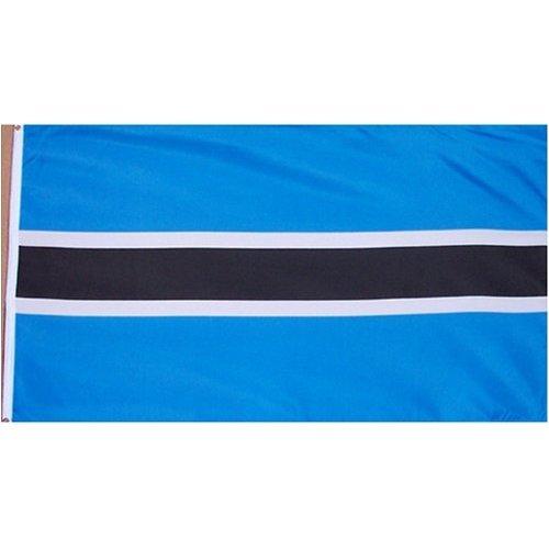Botswana Flag Polyester 3 ft. x 5 ft.