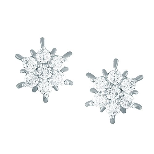 Giantti Diamant Femme Kudi Boucles d'oreilles (0.7 CT, VS Clarté, Gh-colour)