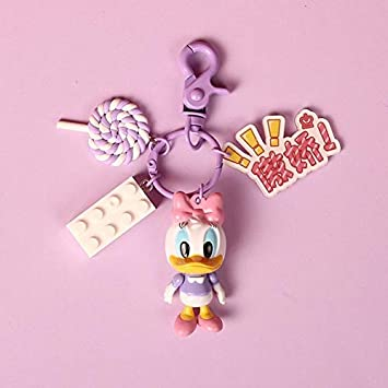 2019 Nuevo Dibujo Saque Mickey Minnie Figura Llavero Set ...