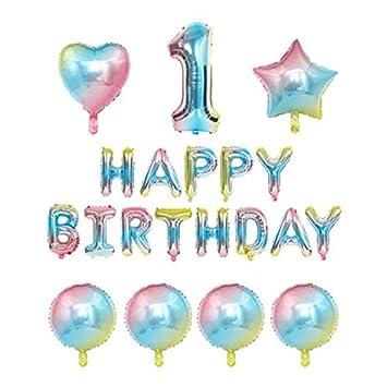 thematys® Happy Birthday Globo de Fiesta - 20 Piezas de ...