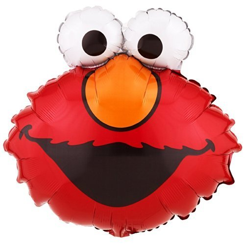 - Elmo Balloon (20 Inch Mylar) Pkg/1