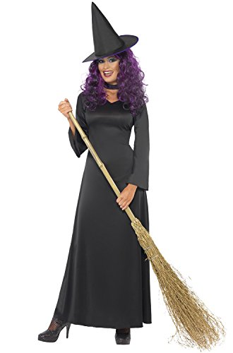 Smiffys Women's Black Witch Costume (Black Witch Costume)