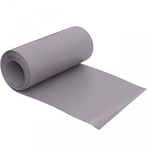 Videx Privacidad para tiras de PVC duro Longlife, Gris claro, 19x 255cm