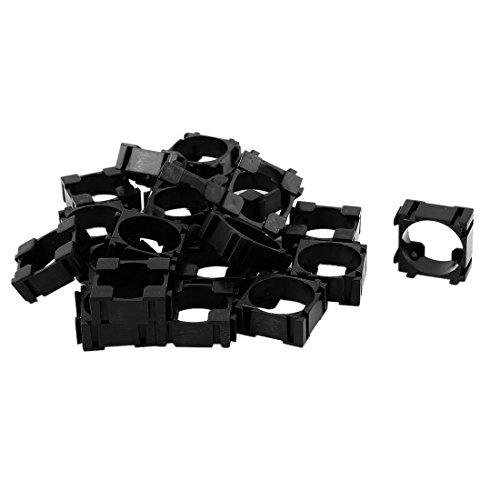 UTL Top Deals 20 Pcs 18650 Lithium Cell Cylindrical Battery Case Holder Bracket for DIY Battery Pack