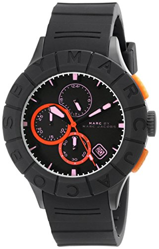 Marc by Marc Jacobs Men's MBM5546 Black Plastic Watch with Silicone - Jacobs Men Mark For
