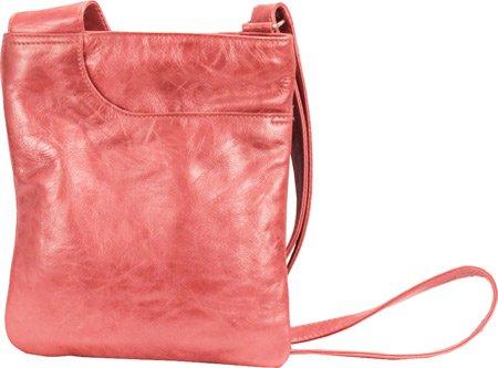 Athena Medium Mimi Foldover Convertible Crossbody Color: Rose, Bags Central