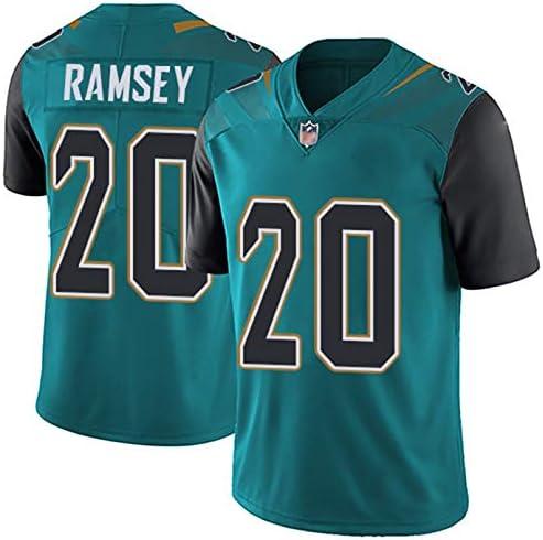 ラグビージャージーTシャツ、ジャガー20#ラムジー、アメリカンフットボールスポーツウェア