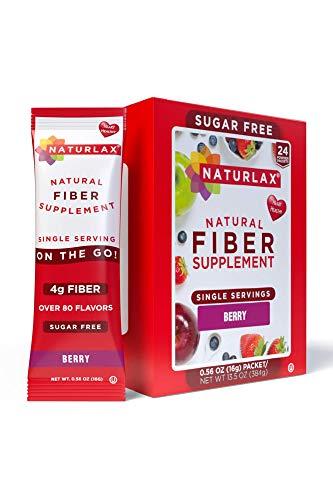 Naturlax Berry Flavored Psyllium Husk, 24 Fiber Packets