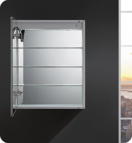 Fresca Tiempo 24 inch Wide x 30 inch Tall Bathroom Medicine Cabinet -