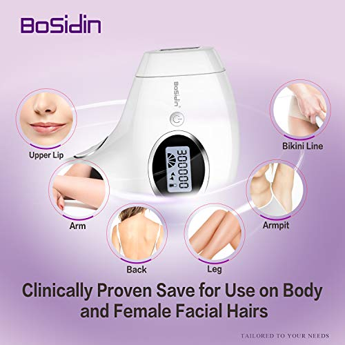 BoSidin Facial & Body Permanent Hair Removal for Women