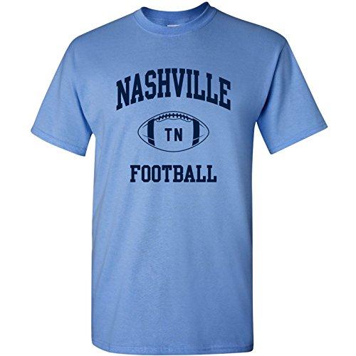 Nashville Classic Football Arch Basic Cotton T-Shirt - X-Large - Carolina ()