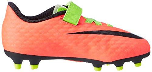 Nike Hypervenom Phade Iii (V) Fg, Botas de Fútbol Unisex Niños Verde (Elctrc Green/black-hyper Orange-volt)