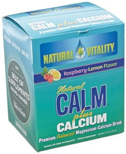 Natural Vitality Natural Calm Plus Calcium Raspberry Lemon - 30 Packets