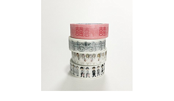 Pack of 2 Cherry x Lasting Blue Washi Tape Bundle  Lunarbay Washi Tape  www.lunarbaystore.com  Washi Tape Set  Cherry blossoms