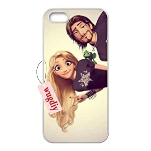 wugdiy New Fashion Hard Back Cover Case for iPhone 5,5S with New Printed Disney Princess