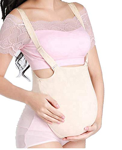 Teesider Fake Pregnancy Belly Bodysuit Fake Belly Costumes, S -