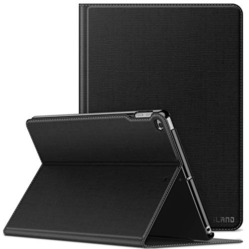Infiland iPad 9.7 2018/iPad 9.7 2017/iPad Air 2/iPad Air Case, Multiple Angle Stand Cover Compatible with Tablets A1893/A1954/A1822/A1823/A1566/A1567/A1474/A1475/A1476 (Auto Wake/Sleep), Black