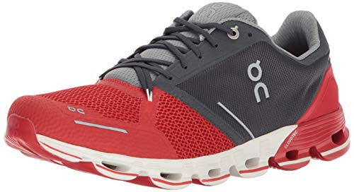 On Running Mens Cloudflyer Red/White Running Shoe - 8.5