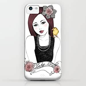 classic - Lady Like iPhone & iphone 5c Case by Jessica Guarnido