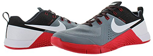 1 Black White Men's Metcon Nike Grey Trainers Red 016 Cool University Ux5wg6q