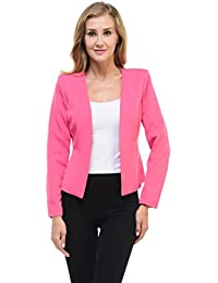 Amazon.com: Pink - Blazers / Suiting & Blazers: Clothing, Shoes ...