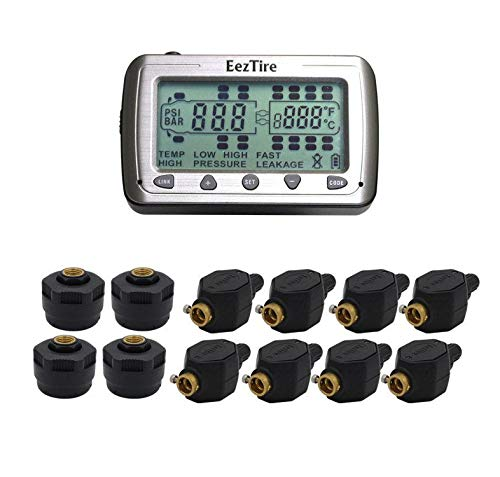 EEZTire by EEZ RV PRODUCTS EEZTire Tire Pressure Monitoring System - 12 Mixed Sensor (TPMS 12MIX) incl. 3-Year Warranty by EEZTire by EEZ RV PRODUCTS
