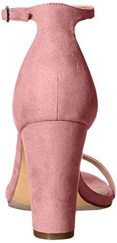 Madden Girl Women's Beella Dress Sandal, Blush Mauve Fabric