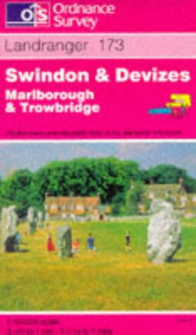 Swindon and Devizes, Marlborough and Trowbridge (Landranger Maps)