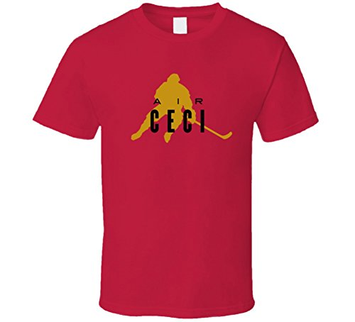 Air Ceci (Tshirtshark Air Cody Ceci Ottawa Hockey T Shirt L Red)