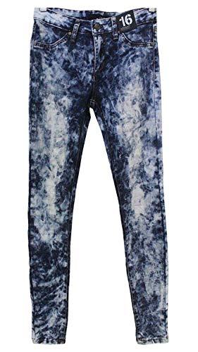 Joe's Jeans Girls Tween Jegging Ultra Slim Fit Pants (Acid Wash Tie Dye- Mack, 14)