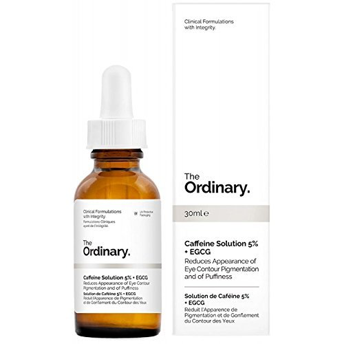 The Ordinary Caffeine Solution 5% + EGCG (30ml) Reduces Eye Puffiness and Dark Circles ()