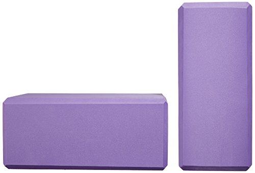 AmazonBasics Yoga Blocks, Set of 2 - Purple by AmazonBasics (Image #5)