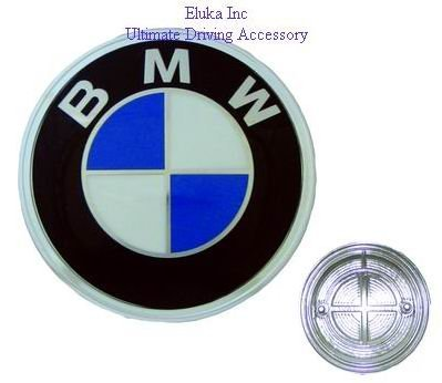 [해외]E21 320i를위한 BMW 진짜 트렁크 원형 방패 1976 년 - 1982 년 & amp; /BMW Genuine Trunk Roundel Emblem for E21 320i From 1976 - 1982 &