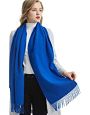 Cashmere Long Scarf, 100% Cashmere, Gorgeous and Natural, K0102