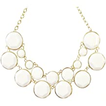 Wrapables Designer Inspired Double Layer Bubble Necklace