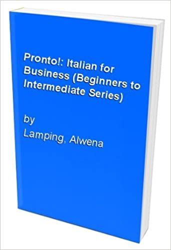 Pronto!: Italian for Business (Beginners to Intermediate Series)
