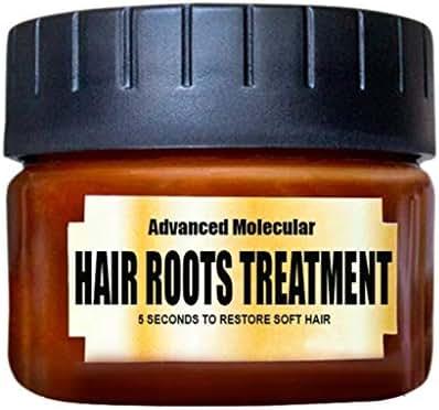 Oksale Advanced Molecular Hair Roots Treatment, Hair Detoxifying Hair Mask Advanced Molecular Hair Roots Treatmen 60ML Recover Elasticity Hair