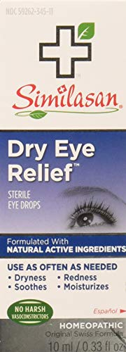 Similasan Dry Eye Relief Sterile Eye Drops, 0.33 Fl Oz, Pack of 3 (Best Allergy Medicine For Itchy Burning Eyes)