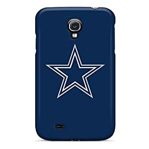 Galaxy S4 Case Cover - Slim Fit Tpu Protector Shock Absorbent Case (dallas Cowboys)