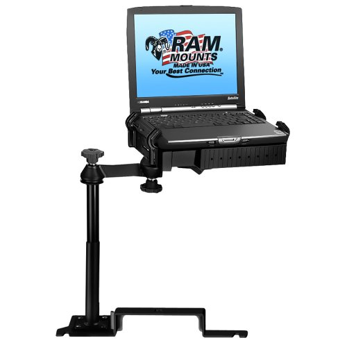 No-Drill Laptop Mount for The Ford Explorer and Police Interceptor Utility