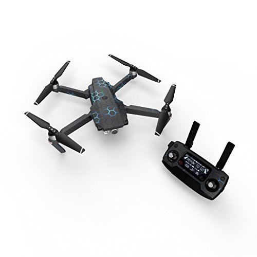 - EXO Neptune Decal for Drone DJI Mavic Pro Kit - Includes Drone Skin, Controller Skin and 3 Battery Skins