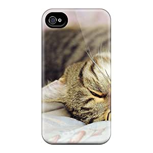 AOI11287ulAC Cat Dreams Awesome High Quality Iphone 4/4s Case Skin