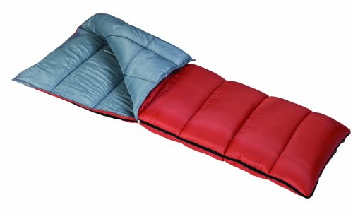 Mountain Trails Sycamore 30 degrees Extra Long Sleeping Bag (33 x 77-Inch, Orange and Silver), Outdoor Stuffs