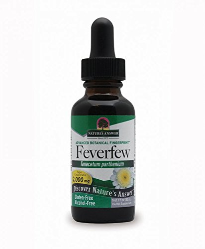 Nature's Answer Alcohol-Free Feverfew Leaf, 1-Fluid Ounce ()