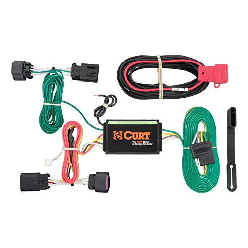 - CURT 56209 Vehicle-Side Custom 4-Pin Trailer Wiring Harness for Select Ram ProMaster